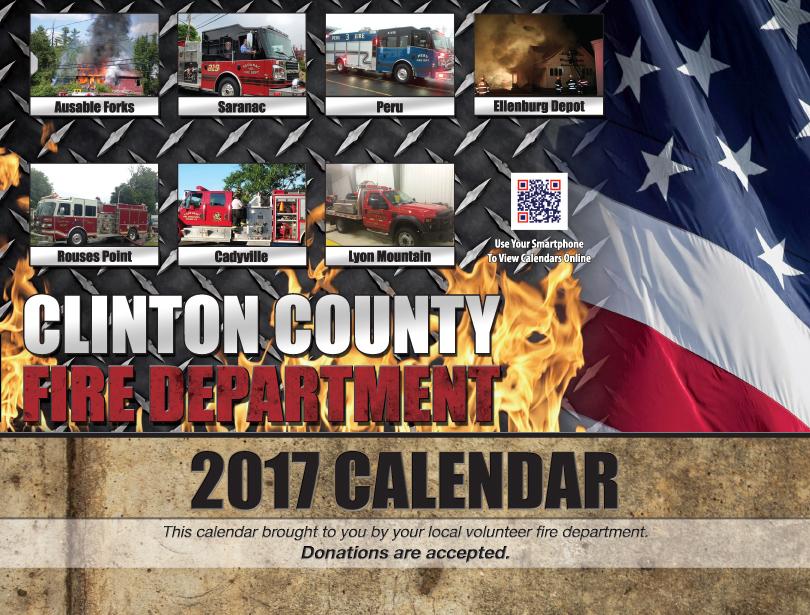 Clinton Calendar 2017 Cover