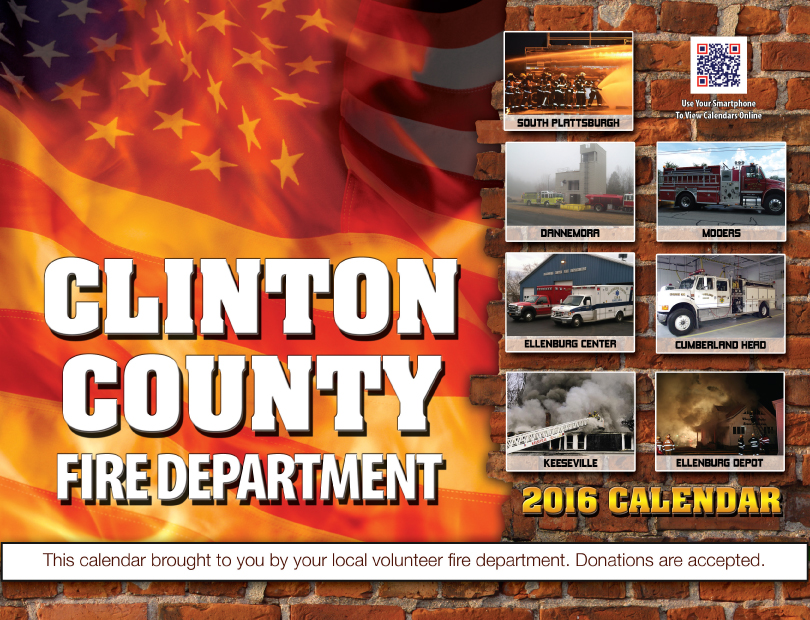 Clinton County 2016 Calendar Cover