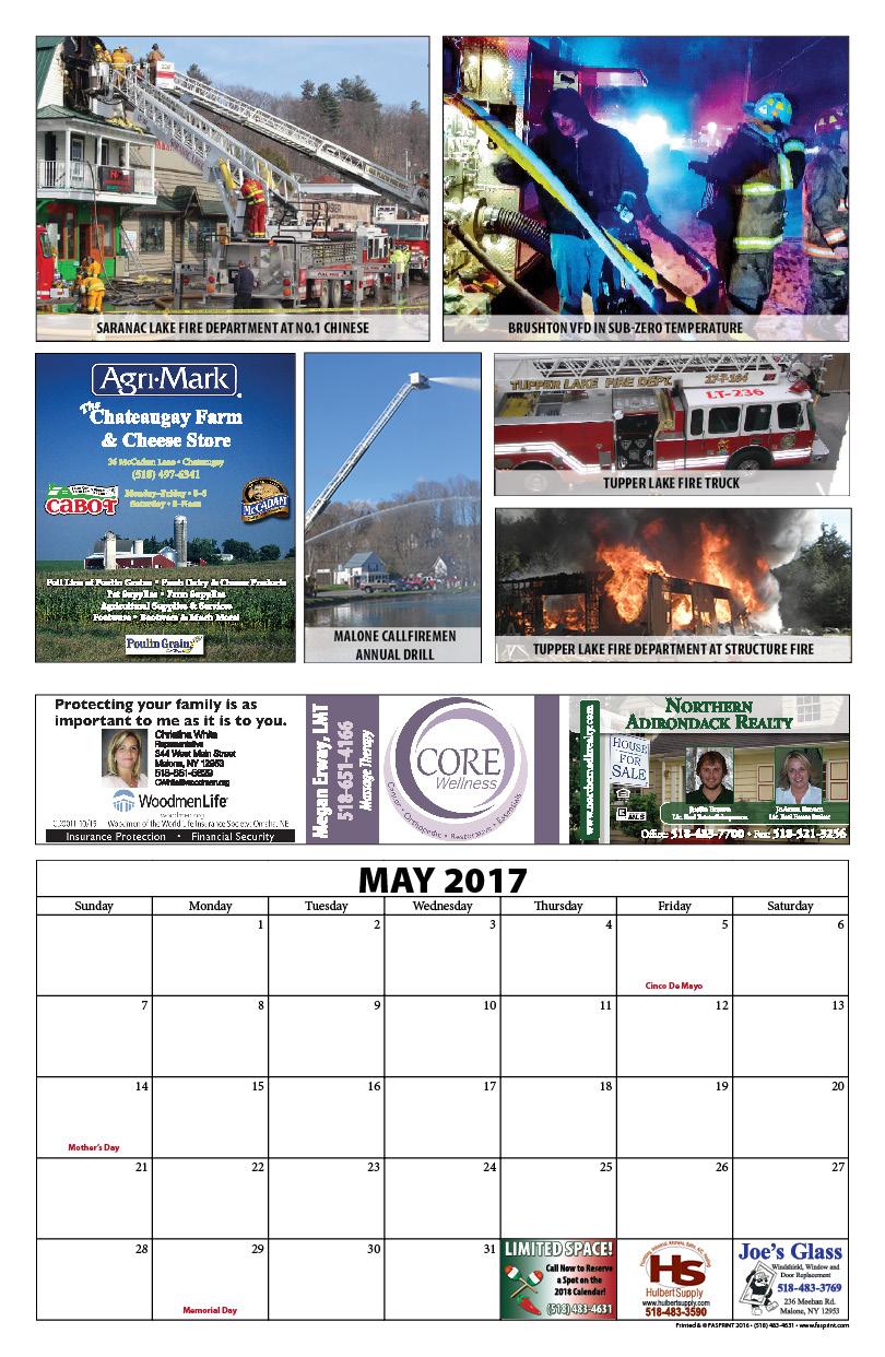 Franklin County Fire Calendar 201711