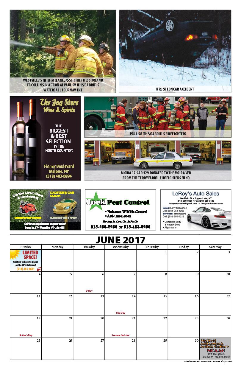 Franklin County Fire Calendar 201712