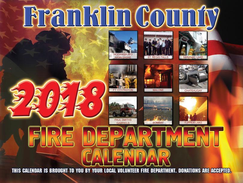 Franklin County Fire Calendar 2018 Cover