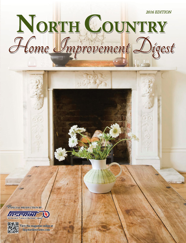 North Country Home Improvement Digest 2016 Cover