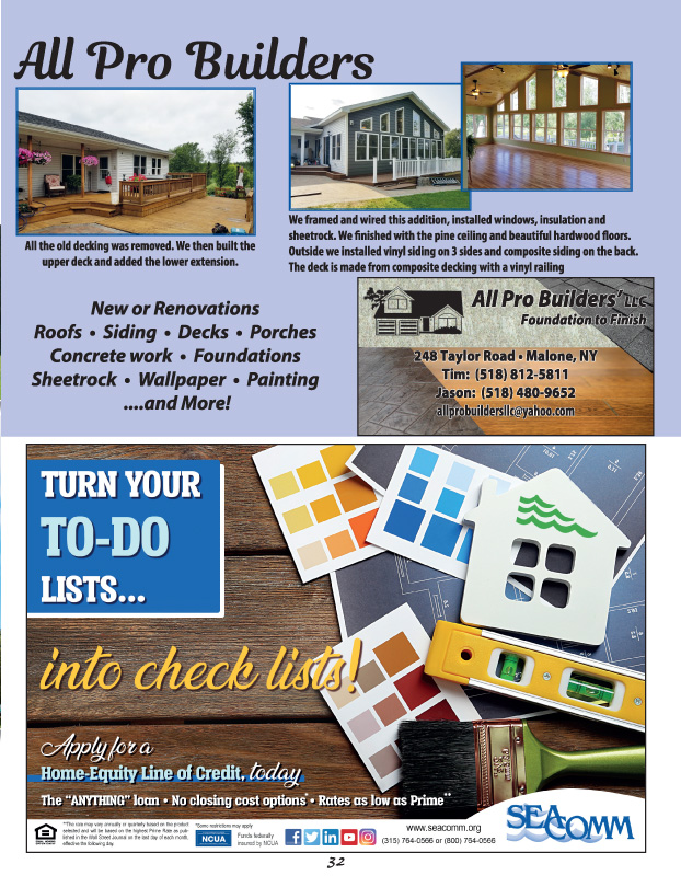 North Country Home Improvement Pg 32