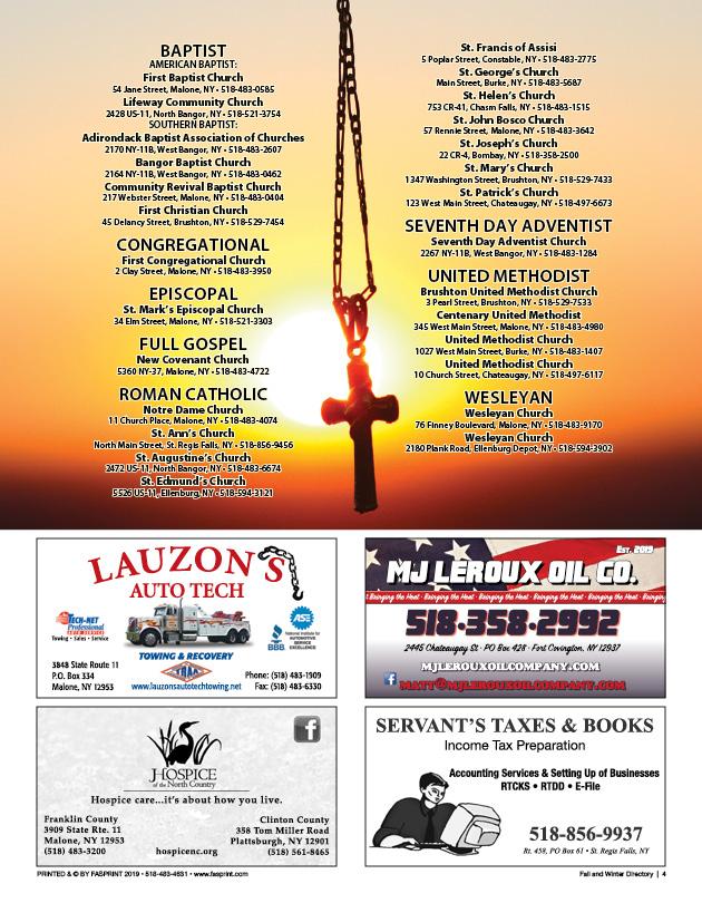 Malone Fall & Winter Directory 20205